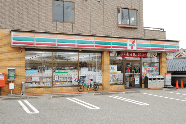 セブンイレブン検見川店